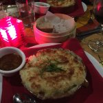 Wednesday's special was Shepherds Pie which we chose.  The food was tasty and the restaurant coz