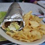 filafel sandwich