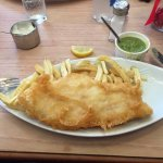 This is a SMALL cod and chips !!