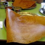 Traditional Masala Dosa with Fresh Coconut Chutney & Sambhar at Sagar