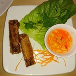 Disappointing phở and spring rolls