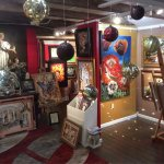 For fine art at very affordable prices go to Oksana Art Gallery upstairs in City Market art cent
