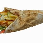 Shawarma with crispy strips