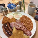 The Mega Breakfast in all its Glory