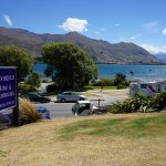 The Moorings in Wanaka. View from room