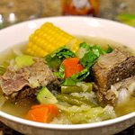 Caldo made daily with fresh vegatables and meat.