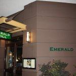 Hotel Restaurant Entrance - The Emerald Grill