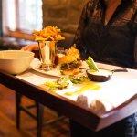 Room service & Pool Service / mini burgers