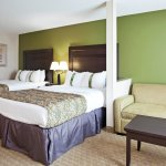 Two Queen Beds and a Sofa (Bed) provide family comfort