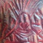 Chief @ Edakal Caves : Engraving on Rock