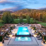 Outdoor Pool with Park City and Deer Valley Resorts