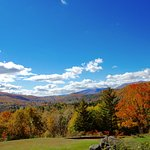 Wilburton Inn: Autumn View of the Battenkill Valley, from the Mansion Bedrooms
