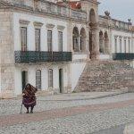The square of Nossa Señora da Nazare