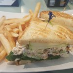 yummy chicken salad sandwich
