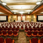 Our Sherbrooke, Quebec hotel's Le Grand Salon Sherbrooke - Classroom-Style Meeting Setup