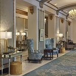 Our hotel Lobby and Front Desk at The Hotel Saskatchewan Autograph Collection