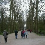 Little walk to the To reach the Chateau