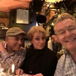 Enjoying Berlin @ Dicken Wirtin: Hochi, Susan & Tony!!!
