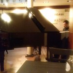Piano being played at Rendez Vous des artistes