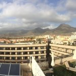 Panoramic view from the roof terrace
