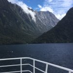 Jucy boat trip on The Milford Sound.