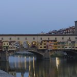 Ponte Vecchio from the river bank