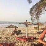 Beach from Kombo hotel