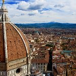 photo of the Duomo taken from the top of the tower
