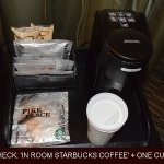 Reality Check 'In room Starbucks Coffee'