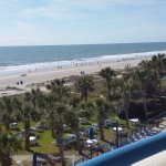 Views from 330 Main building love Walking on Myrtle Beach!