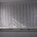 Wall of names at USS Arizona