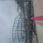 Foto de Boardwalk Amusement Area and Pier