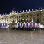 La place Stanislas et l'Hôtel de ville