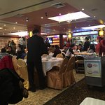 Dim sum carts and tables