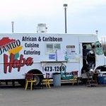 Jambo Cafe's food truck, Santa Fe, NM
