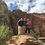 Photo de Canyon Overlook Trail