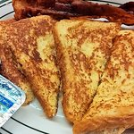 Thick, egg-dipped French Toast