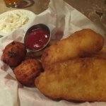 Cod Fish & Chips with Hushpuppies
