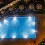 Swimming Pool From Top Floor