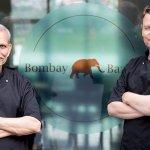 Bombay chefs in front of Bombay Bazaar