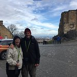 50th anniversary visiting Edinburgh Castle