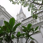 A great place to relax - Chijmes - Singapore (12/Mar/17).