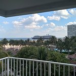 Watch the cruise ships at Port Everglades from your suite.