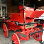 An old fire engine