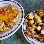 Housemade chorizo scramble