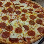 Pepperoni and Cheese Large Pizza