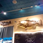 Big Fish eating little fish in Big Fish Grill!