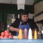 More burgers being prepared....