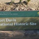 Fort Davis entrance