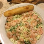 The Shrimp Alfredo was fabulous. My husband had the pork chops and he still can't stop talking a